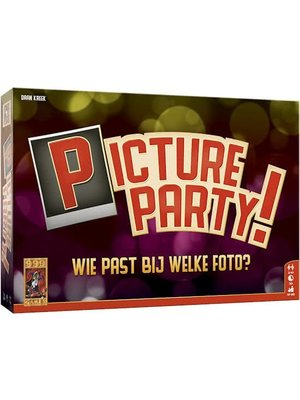 999 Games Bordspel - Picture party - 10+