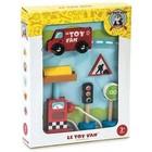 Le Toy Van Le Toy Van - Autoset - Bestelwagen met benzinepomp