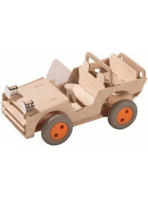 Haba Haba - Terra Kids - Bouwpakket - Terreinwagen