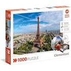 Clementoni - Puzzel - Parijs - Virtual reality - 1000st.