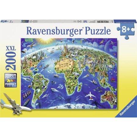 Ravensburger Ravensburger - Puzzel - De wereld in symbolen XXL - 200st.