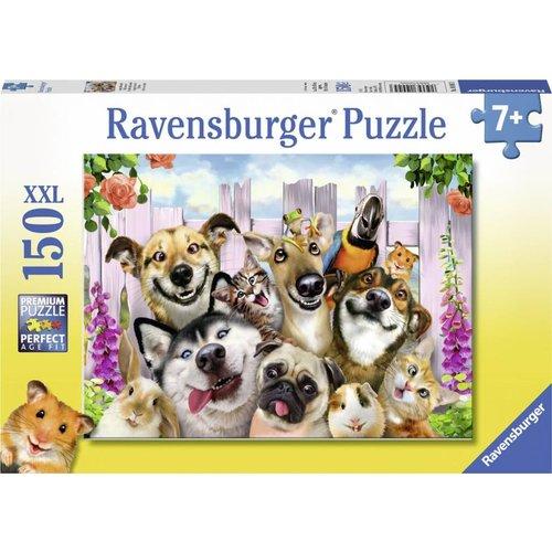 Ravensburger Ravensburger - Puzzel - Grappige dierenselfie - 150st. XXL