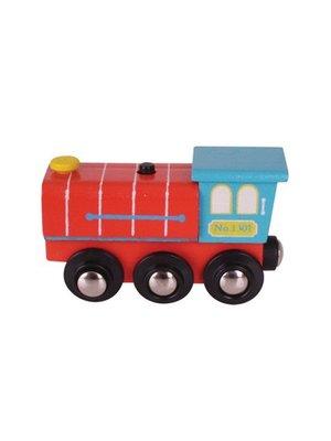 BigJigs Locomotief - Met geluid - Hout