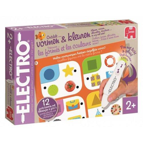 Leerspel - Electro - Vormen & kleuren - 2+