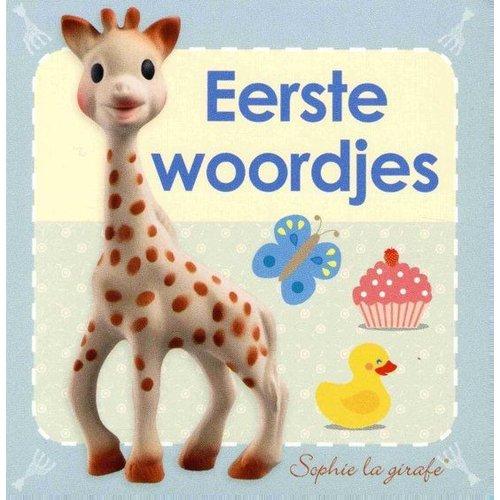 Veltman Boek - Kartonboek - Sophie de Giraf - Eerste woordjes