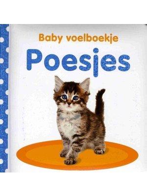 Veltman Veltman - Boek - Baby voelboekje - Poesjes