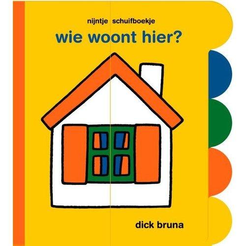 Mercis - Kartonboek - Schuifboek - Nijntje - Wie woont hier?