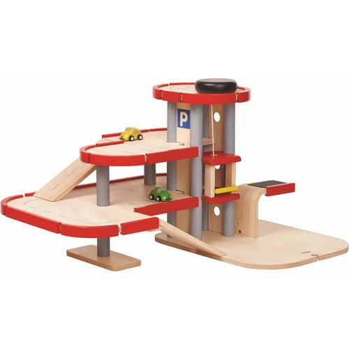 Plan Toys Plantoys - Garage - Hout
