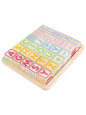 Le Toy Van Le Toy Van - Petilou - Blokken - Met 6 verschillende functies - Hout