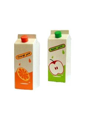Santoys Speelgoedeten - Sinaasappelsappak + Appelsappak