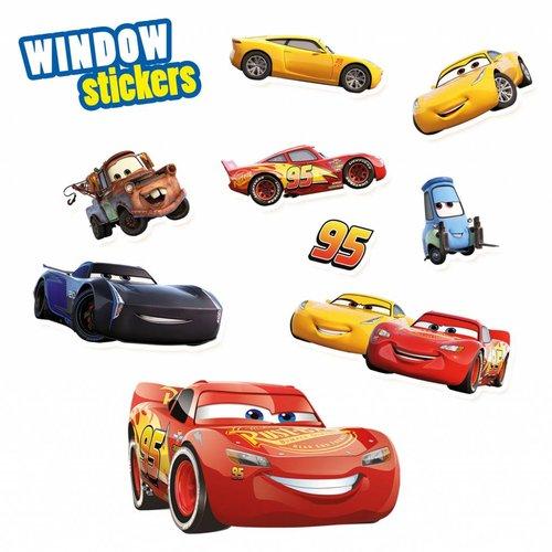 SES - Raamstickers - Cars