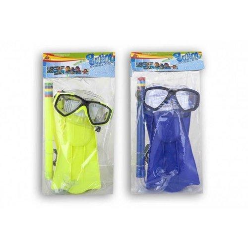 Twisk Duikbril, snorkel & zwemvliezen - Voor kinderen