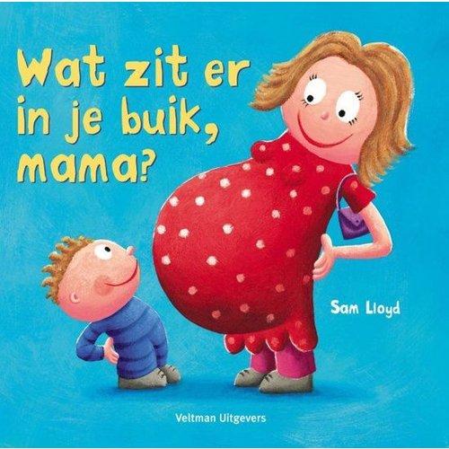 Veltman Boek - Wat zit er in je buik, mama ?