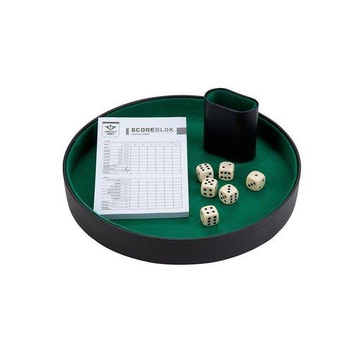 Angeltoys - Pokerpiste - Met beker, dobbelstenen & scoreblok