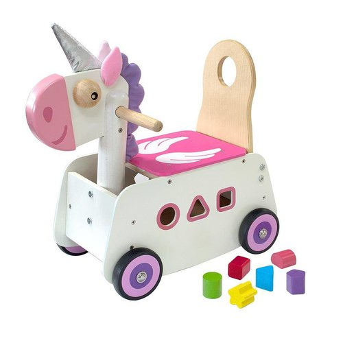 I'm Toy I'm Toy - Loop/duwwagen - Eenhoorn