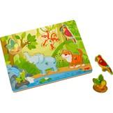 Puzzel - Geluiden in de jungle - 6st.