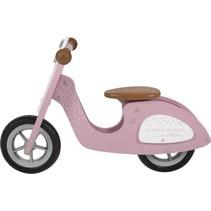 Little Dutch - Tweewieler - Scooter - Roze - 2+