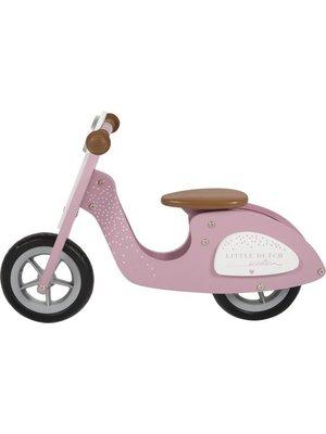 Little Dutch Tweewieler - Scooter - Roze - 2+