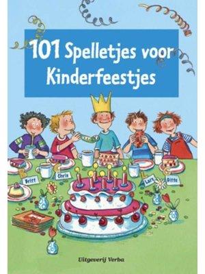 Verba - Boek - 101 spelletjes voor kinderfeestjes