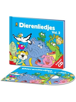 Kids Marketeers Boek & CD - Dierenliedjes - Vol.2
