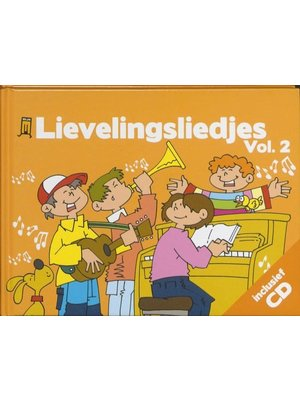 Kids Marketeers Kids Marketeers - Boek & CD - Lievelingsliedjes - Vol.2