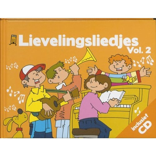 Kids Marketeers Boek & CD - Lievelingsliedjes - Vol.2
