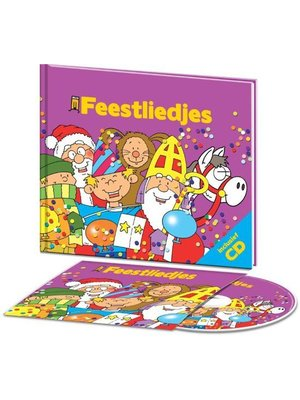 Kids Marketeers Boek & CD - Feestdagen liedjes
