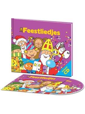 Mediadam - Boek & CD - Feestdagen liedjes