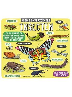 Gottmer Gottmer - Boek - Kleine onderzoekers - Insecten