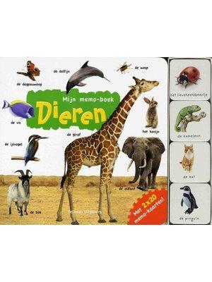 Veltman Boek - Mijn memo boek - Dieren