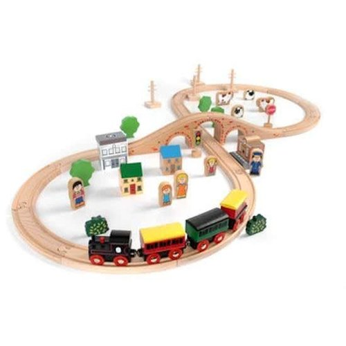 Tidlo Rails - Treinset - Stad & platteland - 50dlg.