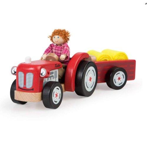 Tidlo Auto - Tractor met trailer