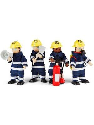Tidlo Poppenhuispoppetjes - Brandweer