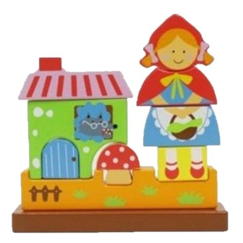 Simply for kids Simply for Kids - Magnetische puzzel - Roodkapje - 9st.