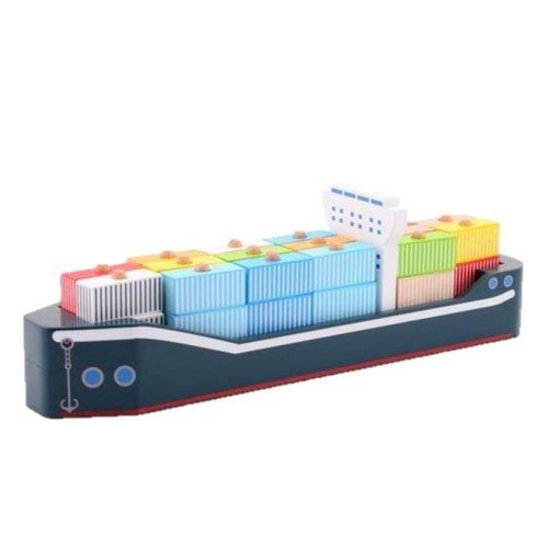 Jouéco - Containerschip - Hout - 34dlg.