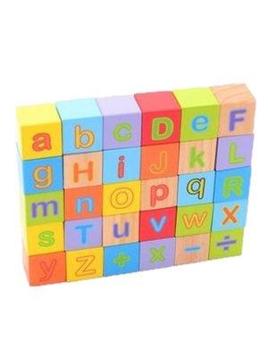 Alfabet blokken - 30st.