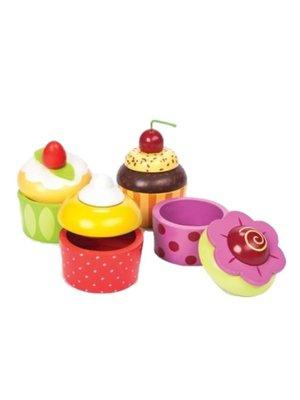 Le Toy Van Bewaardoosje - Cupcake