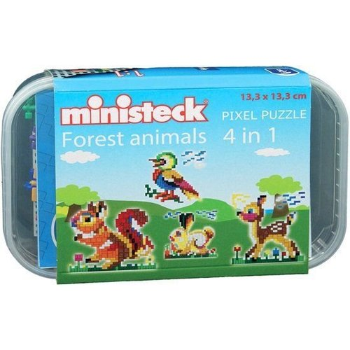 Ministeck - Bosdieren - 4-in-1 - 510dlg.