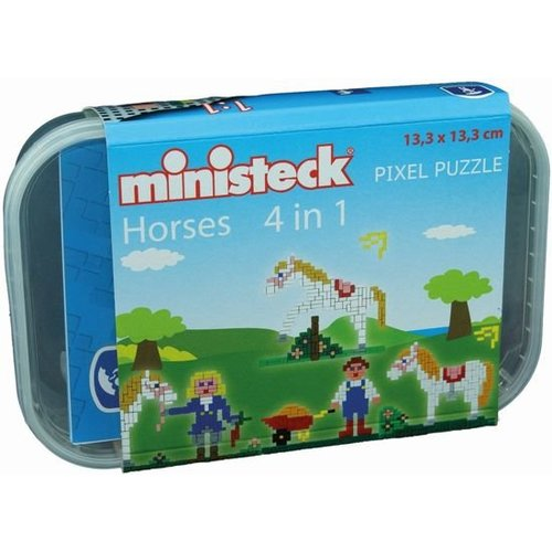 Ministeck - Paardenstal - 4-in-1 - 510dlg.
