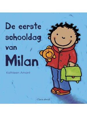 Clavis Clavis - Boek - De eerste schooldag van Milan