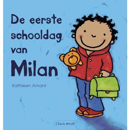 Clavis Boek - De eerste schooldag van Milan