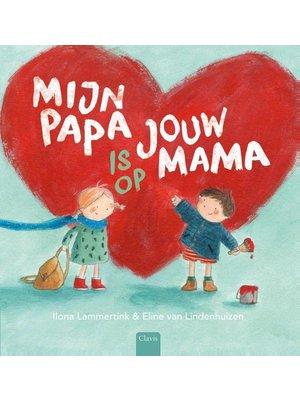 Clavis Boek - Mijn papa is op jou mama