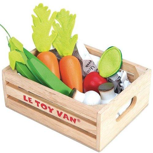 Le Toy Van Speelgoedeten - Groente - In kratje