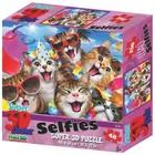 Prime3D - Puzzel - 3D - Katten selfie - 48st.