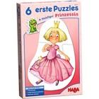 HABA Haba - Puzzel - Eerste puzzels - Prinses - 2/2/3/3/4/4st. - 2+