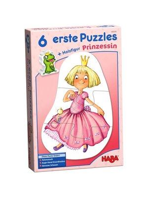 Haba Puzzel - Eerste puzzels - Prinses - 2/2/3/3/4/4st.
