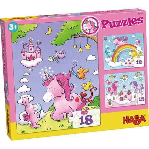 Haba Puzzel - Eenhoorn Flonkerglans - 12/15/18st.