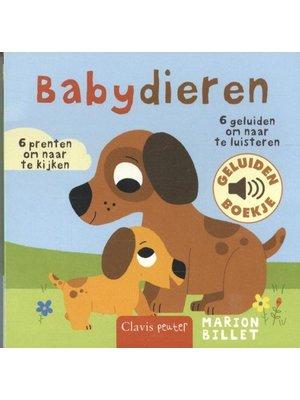 Clavis Boek - Babydieren - Met geluid
