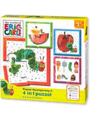 Bambolino Toys Bambolino Toys - Puzzel - Rupsje Nooitgenoeg - 4/6/9/12 st.