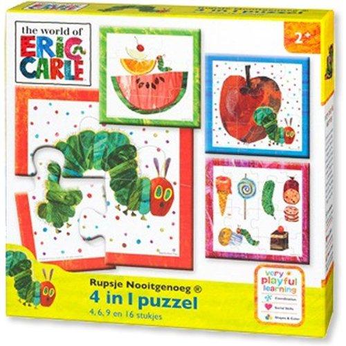 Bambolino Toys - Puzzel - Rupsje Nooitgenoeg - 4/6/9/12 st.